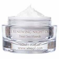 Vivo Per Lei Cell Renewal Anti Aging Night Cream, Look Younger, Not Oily, 1.7fl