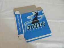 "ANCIEN Grand CARTON Publicitaire de Paquet CIGARETTES "" GITANES CAPORAL "" Tabac"