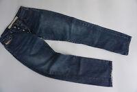 DIESEL Basic Herren Men Jeans Hose 31/32 W31 L32 stonewashed blau TOP #8k