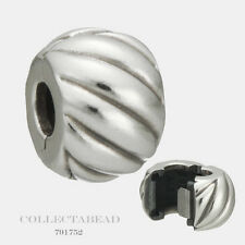 Authentic Pandora Sterling Silver Feathered Clip 791752