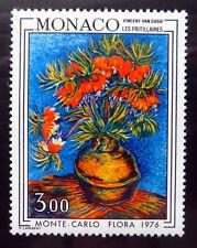 Mónaco 1979 Van Gogh Pintura de Flores SG1224 U/M NB2847