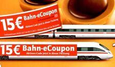 █ 15€ DB Bahn eCoupon aus Toffifee für Bahnticket Gutschein 15 Euro mit Paypal █