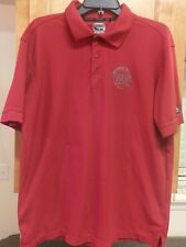 Mens MOE'S SOUTHWEST GRILL FEED THE MOEMENT Uniform Work Polo Shirt Large