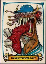 1988 Leaf Baseball's Greatest Grossouts #63 Tongue-Twister Tony