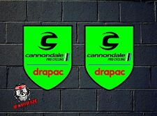 PEGATINA STICKER  ADESIVI AUFKLEBER DECAL CANNONDALE TEAM PRO DRAPAC