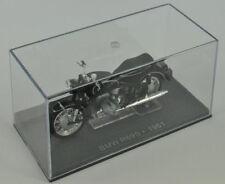 CLASSIC MOTORE BICI J01-BMW R69S 1961 NERO SCALA 1/24 Nuovo caso 1 ° classe Post