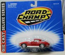 "ROAD CHAMPS -1963 CORVETTE SPLIT WINDOW FAST BACK COUPE - 4"" Long"