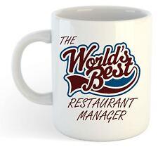 The Worlds Best Restaurant Manager Mug