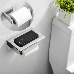 Toilettenpapierhalter Design Papierrollenhalter WC Rollenhalter Edelstahl NEU
