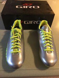 Giro Empire Cycling Shoe - Silver - Men's43 / 9.5 New