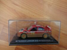 IXO 1/43 MITSUBISHI LANCER EVO VI NEW ZEALAND RALLY 1999 CAR MUD/DIRTY EFFECT