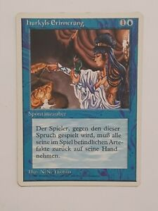 mtg Hurkyl's Recall / hurkyls Erinnerung 4th Edition