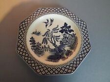 Vintage Royal Staffordshire J+G Meakin Willow Octagonal Plate 22.5cm