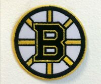 Boston Bruins Hockey team badge Embroidered Iron on Sew on Patch j1765
