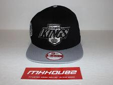 New Era Los Angeles Kings Vintage Black 9Fifty Snapback Adjustable Hat Cap NHL