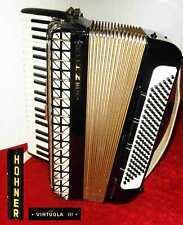 Akkordeon HOHNER Virtuola  III im Koffer 120 Bässe 3chörig