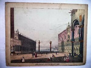 1800 - Guckkastenbild  - Die Plazetta in Venedig  - Winckelmann u. Söhne