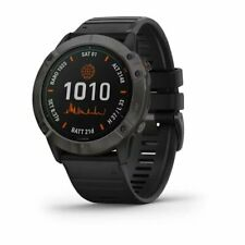 Garmin Fenix 6X Pro Solar GPS 51mm Watch (Titanium Carbon Gray DLC) 010-02157-20