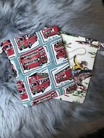 Hnadmade Cath Kidston Boys Wash Bags Gift Storage Busses Cowboys