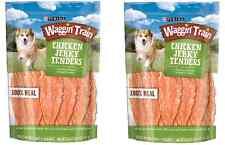 Waggin Train 100% REAL Chicken Jerky Tenders Dog Treats Wagon Fresh 2 x 36 oz