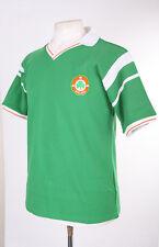 REPUBLIC OF IRELAND EIRE EURO 1988 GREEN HOME REPLICA FOOTBALL SHIRT S