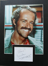 MIKE FARRELL Signed 13x9 Photo Display Captain B.J. Hunnicut In M.A.S.H COA