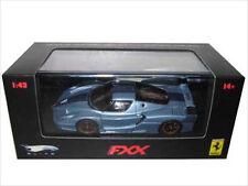 FERRARI ENZO FXX ELITE BLUE LTD 1/43 DIECAST MODEL CAR BY HOTWHEELS N5611