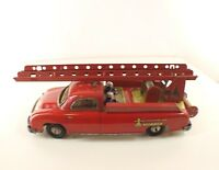 CR Charles Rossignol 236-7 Delahaye pompier moteur friction tôle tin toy RARE