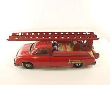 CR Charles Rossignol 236-7 Delahaye pompier moteur friction tôle tin toy RARE