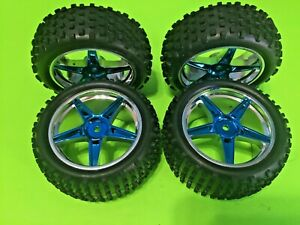 REDCAT RACING TORNADO EPX PRO STOCK WHEELS AND TIRES