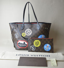 963fee4ed840 Louis Vuitton World Tour Collection Neverfull MM M42844 w  Pouch Tag  Receipt DB