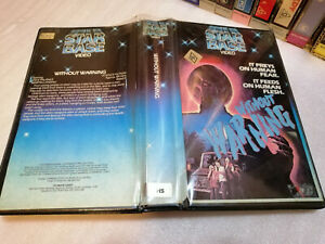 WITHOUT WARNING (1980) - RARE Australian Star Base Video Original Case - HORROR!