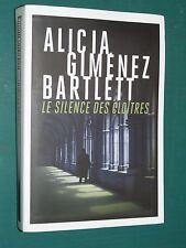 Le silence des cloîtres Alicia GIMENEZ BARTLETT