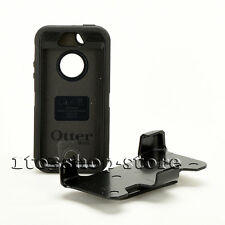 OtterBox Defender iPhone SE iPhone 5s iPhone 5 Black w/Holster Belt Clip  Used