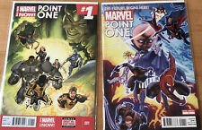2 MARVEL POINT ONE COMICS