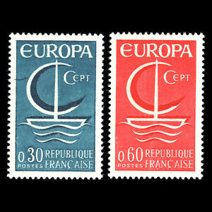 France 1966 - EUROPA Stamps - Sc 1163/4 MNH