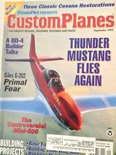 Custom Planes Magazine Bd4 Build Talks Giles G202 September 1999 081917nonrh