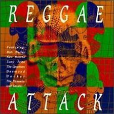 Reggae Attack (1990) Harry J. All Stars, Bob Marley, Nicky Thomas, Ken Bo.. [CD]