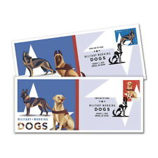 USPS New Military Working Dogs Cachet (Set of 2)