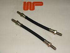 CLASSIC MINI - REAR RUBBER BRAKE PIPE HOSE SET (2) - GBH250 x 2