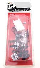 Herpa 013024 - 1:87: MiniKit MAN TGS M Euro 6  Muldenkipper, weiß - NEU + OVP
