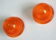 Lucas L594 Paar Bernstein / orange Acryl Gläser, 37H8130