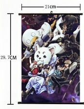 Hot Japan Anime Cosplay GINTAMA Home Decor Art Poster Wall Scroll 21*30CM A+