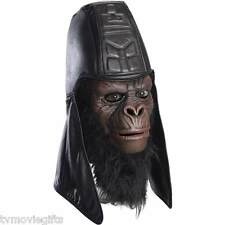 Planet of the Apes Dlx General Usurus Mask Adult Latex Mask Licensed 68566