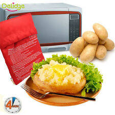 Potato Corns Bread Microwave Cooker Bag Washable Baked Cooking Roast New