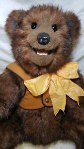 "Kaylee Nilan Beaver Valley ""Blackburn"" artist teddy bear mohair Artist Proof"