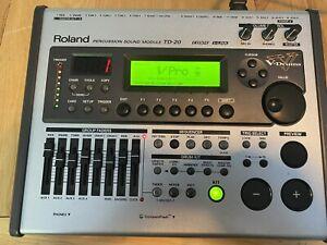 Roland TD20 Drum Module / Brain
