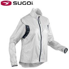 Sugoi Helium Lightweight Women's Cycling Jacket - White Smoke - S M L