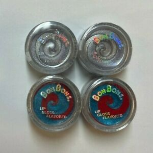 BONBONS Flavored Lip Gloss 036 and 033 LOT OF 4 *SEALED*