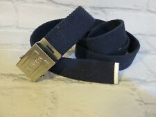 "Levi's Blue / Silver Belt  Ajustable Size up to 46""  New"